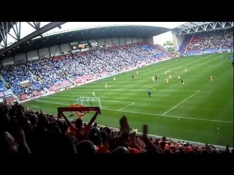 Craig Cathcart en partido Blackpool-Wigan