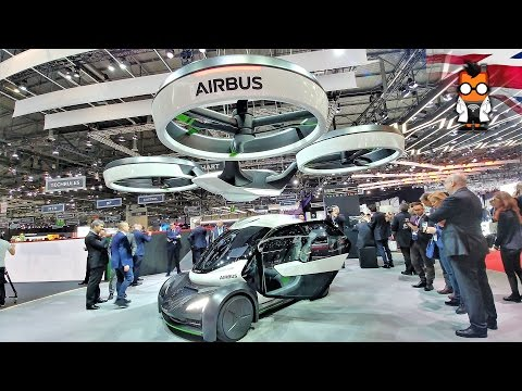 Airbus Shows of a Modular Self Flying Car Concept