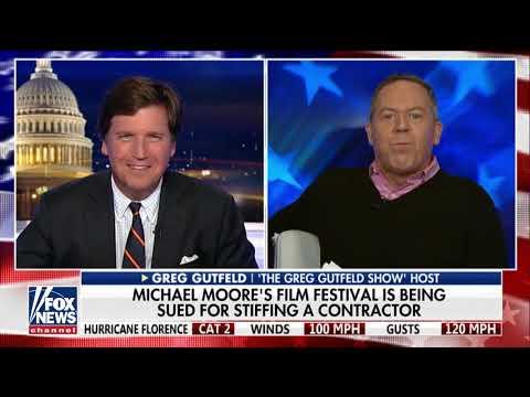 'The Hypocrisy of Michael Moore': Tucker, Gutfeld on Filmmaker's Anti-Trump Rhetoric