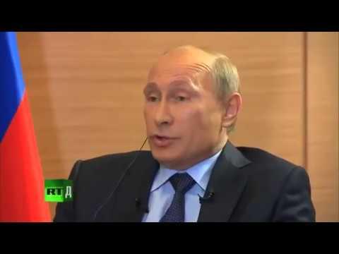 Путин красиво отшивает двух французких(про американских) провокаторов - DomaVideo.Ru