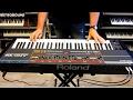 Roland Juno-106 Analog Synthesizer (1984) RetroSound Soundscapes sound demo