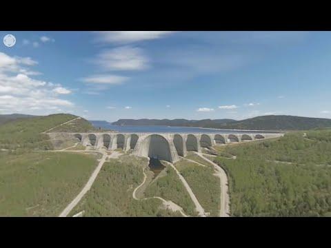 Visite du barrage Daniel-Johnson en réalité virtuelle