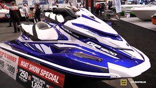 8. 2018 Yamaha GP 1800 Jet Ski - Walkaround - 2018 Toronto Boat Show