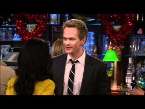 Some scenes  from How I met your mother season 6 episode 16 , The desperation day!!