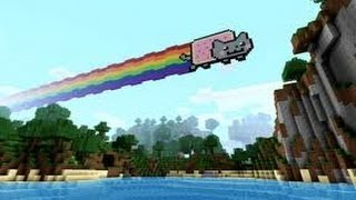 Minecraft Nyan Cat Time Lapse (xbox 360 edition)