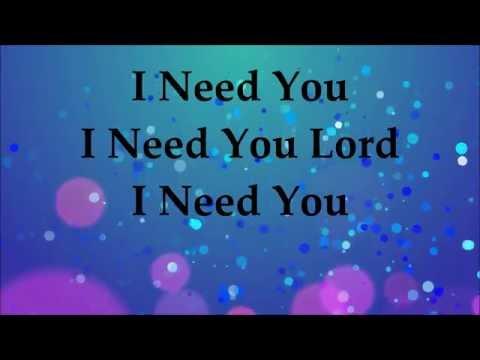 Video Donnie McClurkin - I Need You (Single)  - Lyrics 2016 download in MP3, 3GP, MP4, WEBM, AVI, FLV January 2017
