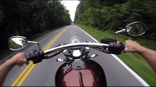 10. Victory Vegas Motorcycle Riding Review