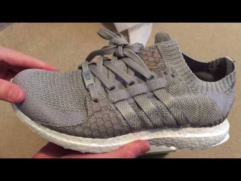 Adidas Pusha T King Push EQT Gray Scale Sneaker Unboxing