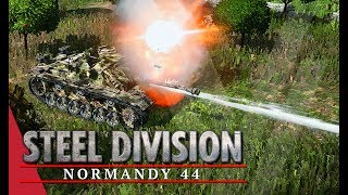 Enjoyed the video? Here's some more! ► https://goo.gl/vHwUWjSteel Division: Normandy 44 Playlist! ► https://goo.gl/uuBRTmYou can now support the channel on Patreon! ► https://www.patreon.com/vulcanhdgaming-----------------------------------------------------------Change Of Plan! Steel Division: Normandy 44 Gameplay (Colleville, 4v4)-----------------------------------------------------------Hey guys,In this one I have a go with the 17th SS once again and I really want to try out the solo Stug strategy. It was going well, until it was the first unit to die...Deck Used: 17th SS-PanzergrenadierDeck Code: Gh98QX0Bf4F/kX/hfvF/EX5hfqF/QbzifrJ88X9hfsKAsXwCgJJ98oBxfkF8k36CfgF/wXvxfZF/oXvRfbF+MQ==Contact Me!Twitch: http://www.twitch.tv/vulcanhdgamingTwitter: https://twitter.com/vulcanhdgamingFacebook: https://www.facebook.com/vulcanhdgamingSteam: http://steamcommunity.com/groups/vulcanhdgamingPatreon: https://www.patreon.com/vulcanhdgamingPlayer.me: https://player.me/vulcanhdgamingMusic used: End Game by Per Kiilstoftehttps://machinimasound.com/music/end-gameLicensed under Creative Commons Attribution 4.0 International(http://creativecommons.org/licenses/by/4.0/)