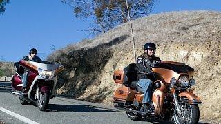 7. 2008 Harley-Davidson Ultra Classic vs. Victory Vision - MotoUSA