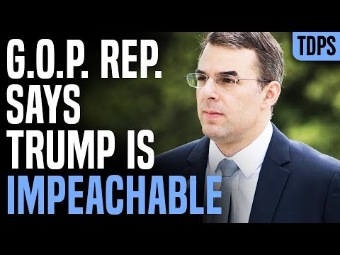 REPUBLICAN Now Says Trump is Impeachable