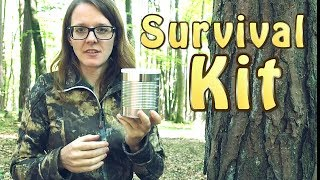 Learn how to use the fire steel correctly https://www.youtube.com/watch?v=_DBAopG9gO4Rucksack used in this video: http://amzn.to/2qswwNhContent of the can:1. Firesteel2. Compass3. Victorinox Hunter XT http://amzn.to/2rcFqBP4. Signal Mirror5. Signal Whistle6. Duct Tape7. Tampon8. Jute twine with pine resin and bees wax9. First Aid and painkillers10. Paracord and other string11. Snare wire12. Metal tin container13. Head lamp flashlight14. Dextrose instant sugar boost15. Fishing KitWant to know what gear I am using? Check out my amazon store:http://astore.amazon.com/survlill-20Want a Survival Lilly T-Shirt? https://shop.spreadshirt.com/SurvivalLillyLilly`s new cameras:Sony http://amzn.to/2b5w5ofOlympus http://amzn.to/2naRUWC► More Videos To Watch – Lilly's Favorite ◄How to make fire with a fire steelhttps://www.youtube.com/watch?v=_DBAopG9gO4Helicopter Drop Off On Vancouver Islandhttps://www.youtube.com/watch?v=WASK7oF9dog---------------------------------------------------------------► SOCIAL MEDIA ◄Facebook ► https://goo.gl/j79k3jWebsite ► www.survivallilly.atTwitter ► https://twitter.com/SurvivalLillyInstagram ► https://instagram.com/survival_lilly/♥ Feel free to subscribe to my channel. Please share my videos on Facebook and Reddit. Thanks ♥Hi, my name is Lilly and I like spending time in nature to practice my survival and bushcraft skills. This channel documents my learning process of all wilderness and urban survival skills. This is not a purely primitive survival channel. Sometimes I use modern tools which people might have at hand in a real survival situation. Thanks for watching ~ Survival Lilly