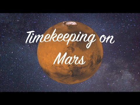 How Keeping Time Works on Mars Compared to How It Works on