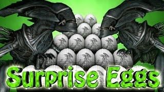 Minecraft | SURPRISE EGGS CHALLENGE - Alien Vs Predator Mod! (Surprise Egg Aliens)