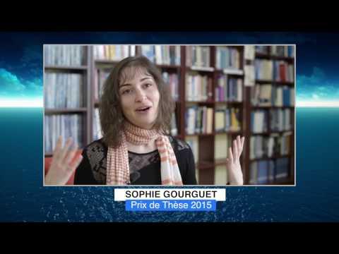 Sophie GOURGUET - Lauréat 2015 Médailles Albert Ier - Prix de la thèse