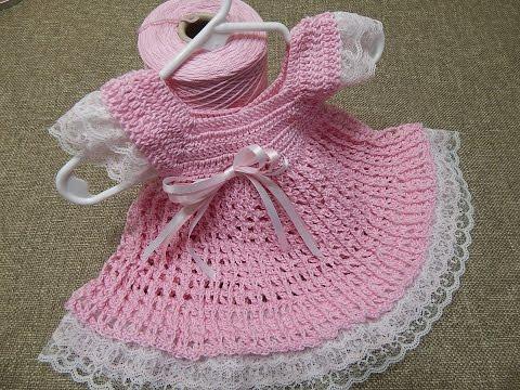 uncinetto - vestitino bimba