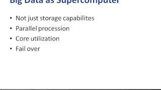 Hadoop: Introduction Tutorial Video: Purpose Of Big Data