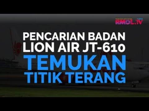 Pencarian Badan Lion Air JT-610 Temukan Titik Terang
