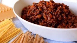 Fleischsoße für Lasagne