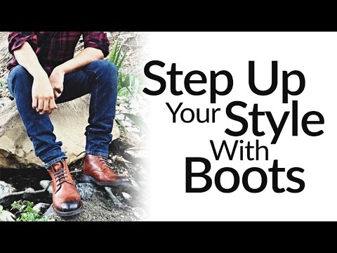 Step-Up Casual Style With Leather Dress Boots | ONE Men's Shoe Upgrade To More Fashionable Wardrobe