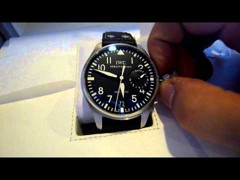 IWC Reviews - Up for grabs is this IWC Big Pilot 5004, here's my review.