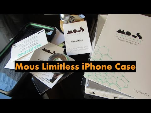 Mous Limitless iPhone Case (видео)