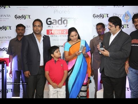 Iphone 6 unvield by MP kavitha in Hyderabad : TV5 News
