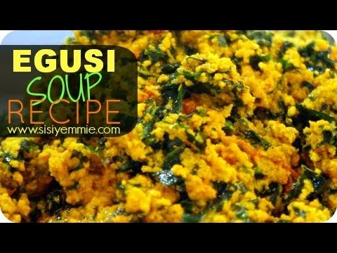 Cooking Egusi Soup Tutorial