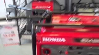 2. Honda EM6500S Remote Starter