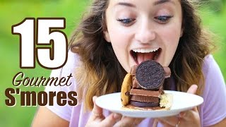 15 Gourmet Smores Recipes | Brooklyn and Bailey by Brooklyn and Bailey