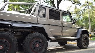 ¡700HP! Mercedes-Benz G63 AMG 6x6 - Ciudad de México