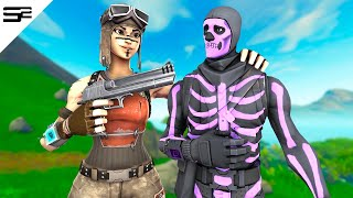 Killing Twitch Streamers with RENEGADE RAIDER #1 - Fortnite Battle Royale
