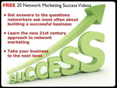 """Network Marketing Success Tutorials: 20 Free Videos Answering The Most Frequently Asked Questions"""