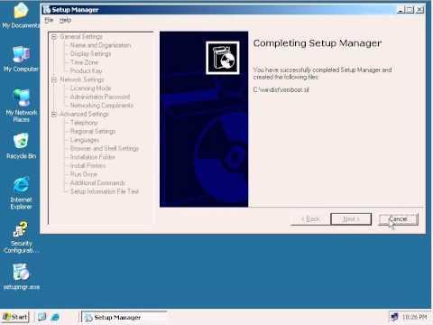 How to configure RIS in windows server2003