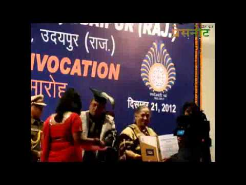 20th convocation of MLSU : Part-II