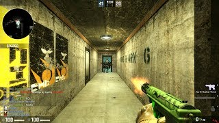 Counter-Strike: Global Offensive Zombie Escape mod gameplay on ze Infiltration Final map ( Pistol only event ) on the GFL server.