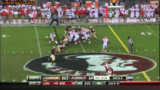 Chris Thompson vs Clemson (2012)