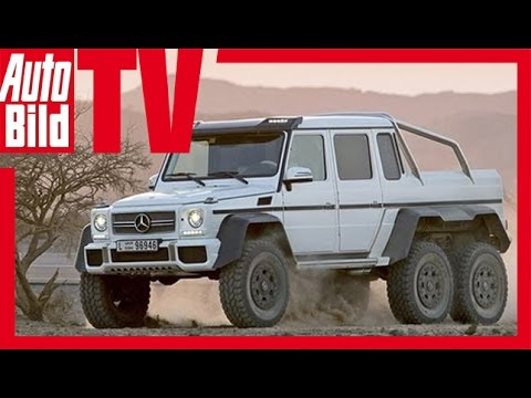 Watch the Mercedes Benz G63 AMG 6x6 in Action