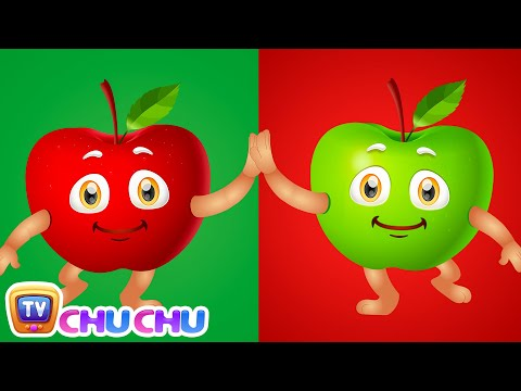 Apple Song (SINGLE) | Learn Fruits for Kids | Educational Learning Songs & Nursery Rhymes | ChuChuTV