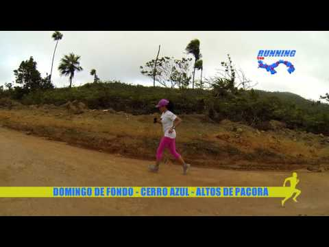 Domingo de fondo Trail Running en Cerro Azul - Altos de Pacora - Panamá 19 de marzo 2008