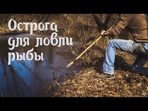 из чего сделать острогу для ловли рыбы в домашних условиях видео