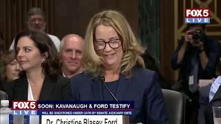 FOX 5 LIVE (9/27): Judge Brett Kavanaugh and Dr. Christine Blasey Ford testify before Senate