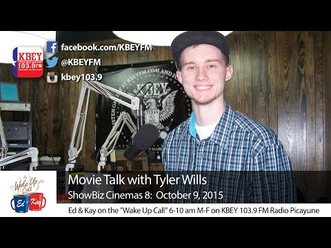 Oct. 9 ShowBiz Cinemas 8 Movie Talk with Tyler Wills