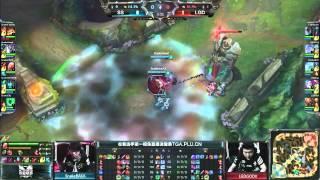 LPL Spring 2015 - Playoffs - 1/2 finale - Snake vs LGD