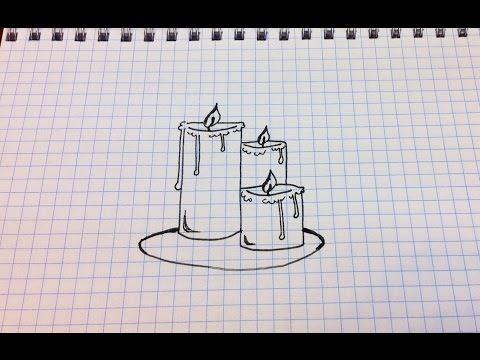 как нарисовать легкие рисунки 3д