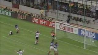 Klinsmanns Kopfballtor gegen Jugoslawien (1990)