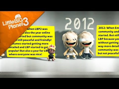 LittleBigPlanet 3 - The Evolution Of LBP 2009-2017
