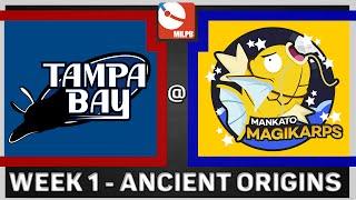 MiLPB Season 2 Week 1 - Mankato Magikarps Vs. Tampa Bay Mantines (Ancient Origins) by Papa Blastoise