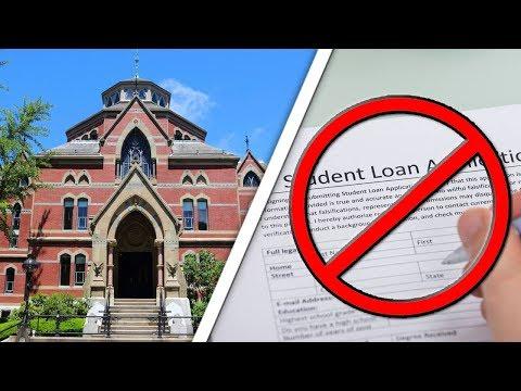 University Ending Student Loans