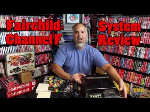 Fairchild Channel F System Review History & Gameplay